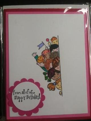 Free Hand Craft Birthday Card Scrapbooking Paper Crafts