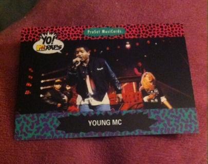 Young MC Card/Read description before bidding