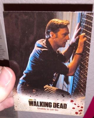 5 TWD The Walking Dead Trading cards! Winner gets all!