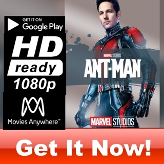 ANT-MAN HD GOOGLE PLAY CODE ONLY
