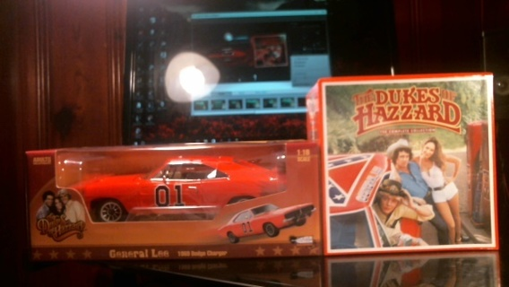 "New in Boxes: 1:18 Scale Die-Cast ""General Lee"" & New Sealed ""Dukes of Hazard"" Complete DVD Series"