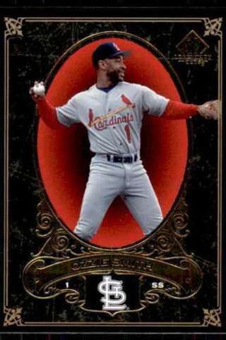 Ozzie Smith - 2007 SP Legendry Cuts #76 - HALL OF FAMER - Mint card