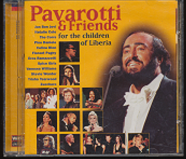 """""""Pavarotti & Friends"""", See Photo 2 for Playlist - CD-008"""