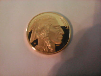 indian $50 goid coin