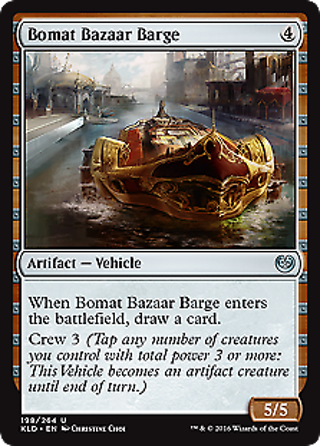 Bomat Bazaar Barge Kaladesh Mtg