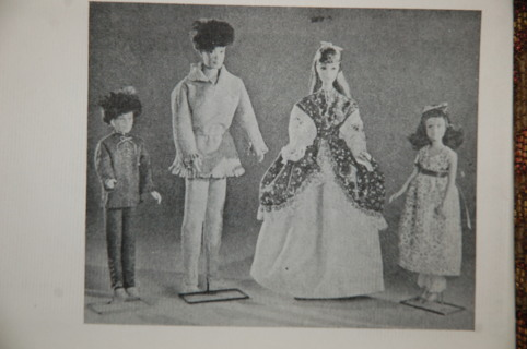 Free: Vintage Tower Press pioneer doll clothes pattern for Barbie ...