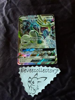 Pokemon Card Drampa GX 115/145