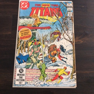The New Teen Titans  Comic Book DC Fine Vintage 1981