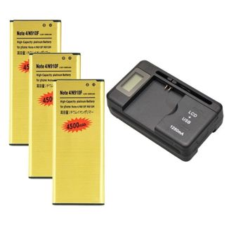 Fast Delivery - New 3x 4500mAh High-Capacity Battery + Dock Charger #2