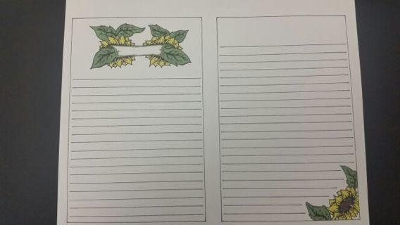 Bullet Journal template