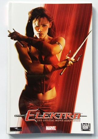 Jennifer Garner as Electra Official Movie Adaptation TPB Softcover Book