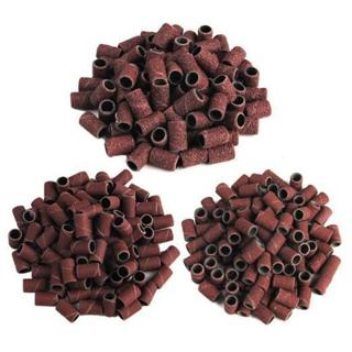 100 PCS/pack 80#120#180#options nail dedicated Sanding ring grinding head,polisher essential supp