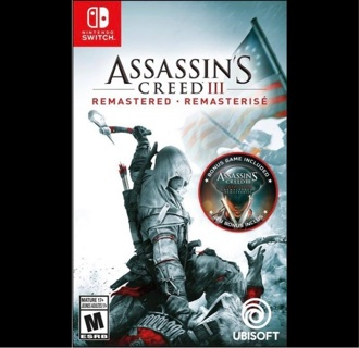 Assassin's Creed III: Remastered - Nintendo Switch [Full Game Digital Code] PLAY TODAY!
