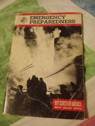 Boy Scouts of America Merit Badge Series Book Emergency Preparedness