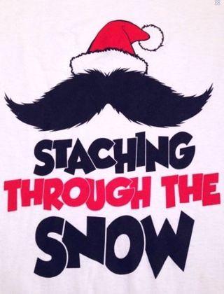 1 Staching Through The Snow Shirt FREE SHIPPING