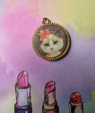 Cat Portrait Charm