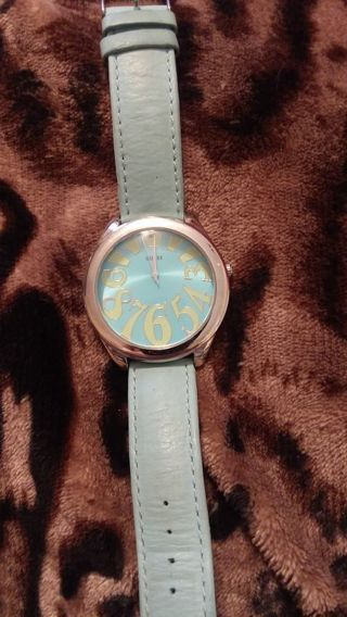 Women big number Guess watch ,leather band