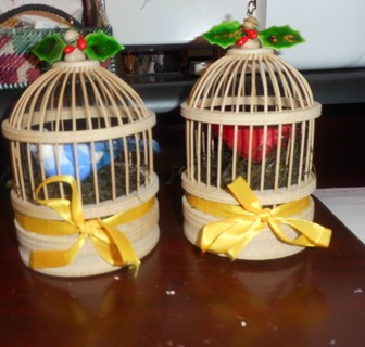 Handmade Wooden Bird Cages