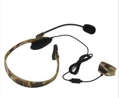 Headset Headphone with Microphone for Xbox 360 Live Camouflage LW SZUS
