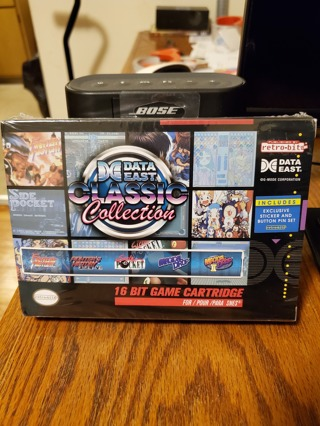 Data East Classic Collection SNES Brand New Factory Sealed
