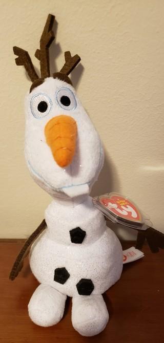 """NEW - TY Disney Beanie Baby - """"Olaf"""""""