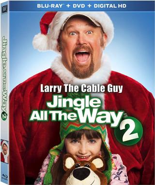 Jingle All The Way 2 (Digital HD Download Code Only) **Christmas** **Larry The Cable Guy**