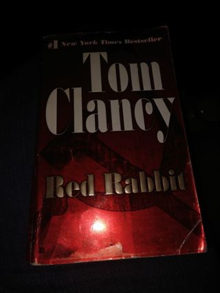 Red Rabbit by Tom Clancy (paperback)