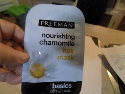 Freeman Nourishing Chamomile hair Mask basics