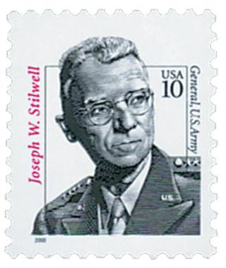 Mint US stamp 'Joseph W. Stilwell'