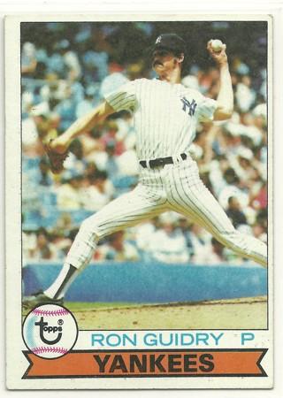 Ron Guidry 1979 Topps #500 New York Yankees