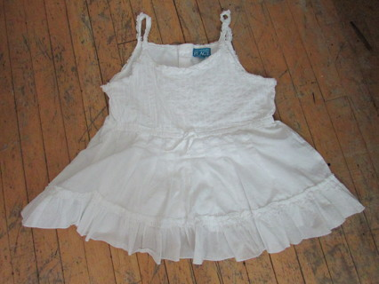 NWOT- Children's Place- White Tank Cami- Cotton- Lined- Sz XL