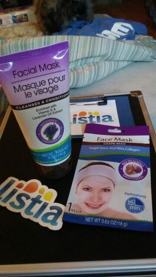 For her.....pamper yourself with two piece facial mask. New!!!!