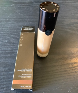 Becca Aqua Luminous Perfecting Foundation *Warm Honey*