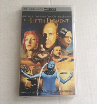 The Fifth Element PSP UMD Movie