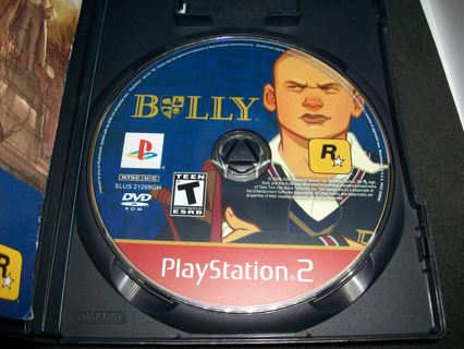 Bully (Sony Playstation 2, 2006) CIB in acceptable condition