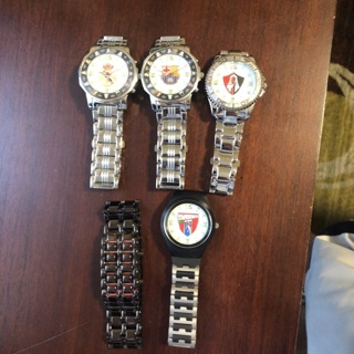 5 WATCHES! Lot of 5 men watches
