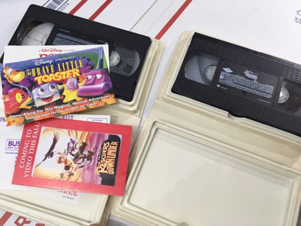 DISNEY DIAMOND COLLECTION MOVIES VHS TAPES FREE SHIPPING 2 MOVIES