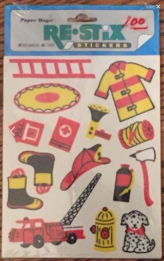 Yay! Fireman Stickers