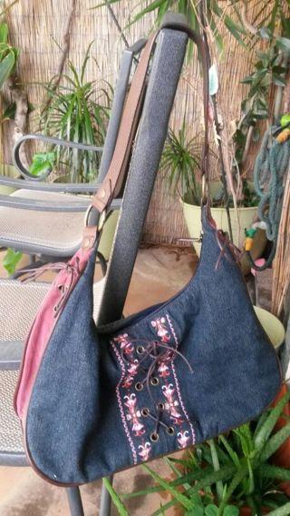 cute denim jeans purse