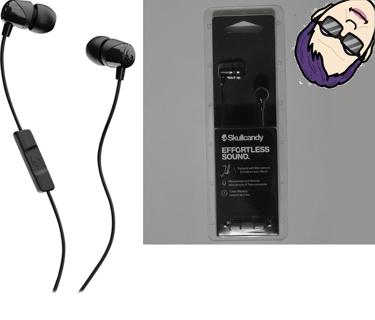 BNIP Skullycandy Jib Wired In-Ear Headphones