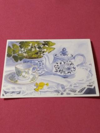 Notecard - Tea Time