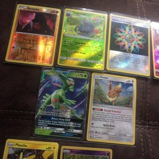Pokémon cards All holo foil