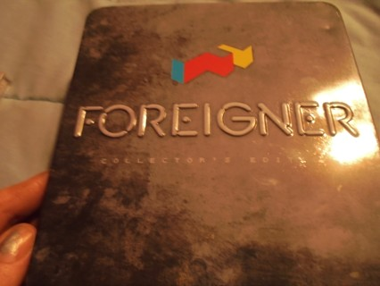 FOREIGNER ALL THE HIT SONGS IN TIN BOX
