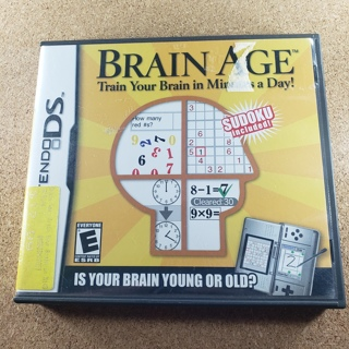 Brain Age Nintendo DS Game