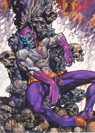 1994 DC Comic Card of ECLIPSO
