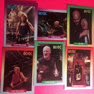 6 AC/DC 1991 Cards!