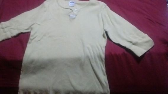 Old Navy Women's Large quarter sleeve top
