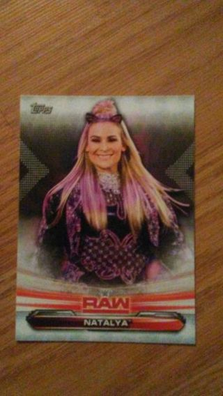 WWE 2019 Natalya Card