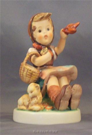 "RARE M.I.Hummel #65 FAREWELL a Goebel figurine TM5 4 3/4""tall"