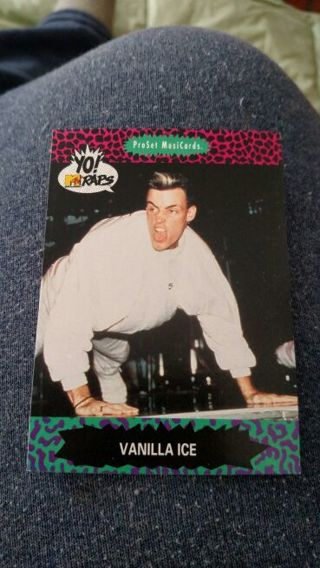 MTV Card - Vanilla Ice